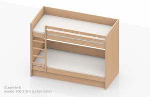 Stabiles Etagenbett Für Erwachsene : Extrem stabile etagenbetten für heime und herbergen nach en