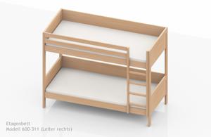 extrem stabile etagenbetten f r heime und herbergen nach en 747. Black Bedroom Furniture Sets. Home Design Ideas