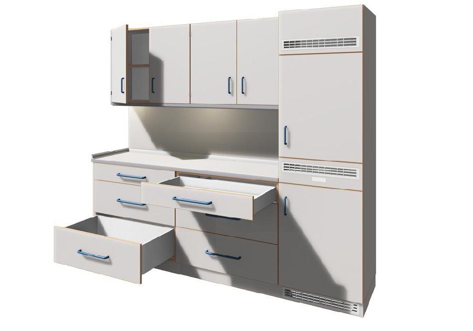 medikamentenschr nke und verteilung f r das stationszimmer. Black Bedroom Furniture Sets. Home Design Ideas